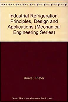 Book Industrial Refrigeration (Mechanical Engineering)