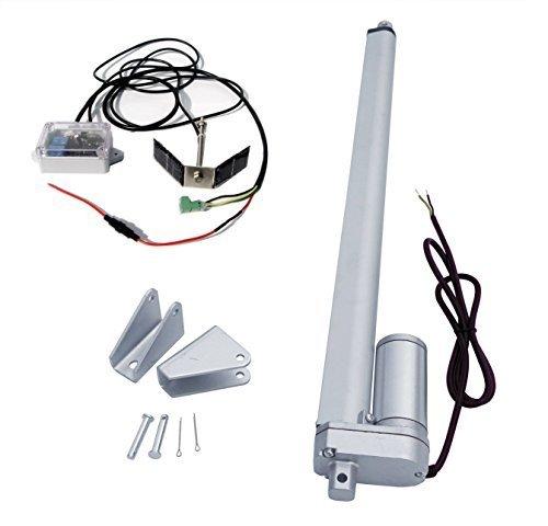ECO-WORTHY Single Axis Solar Tracker Kit: 12 Volt 18 Inch