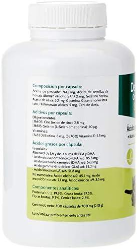 Stanvet 160219 Dermovital Omega 3-6-9-300 Cápsulas: Amazon.es ...