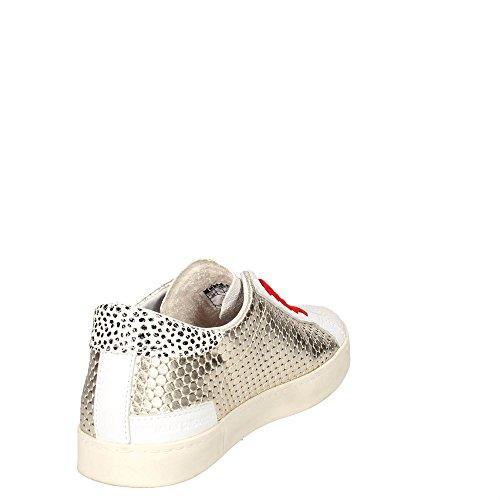 D.a.t.e. Hill LOW-12E Niedrige Sneakers Damen Platin