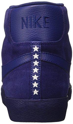 Nike Herren Blazer Mid Prm Vntg Gymnastik Blu (trouwe Blauw / Wit-gum Lichtbruin)