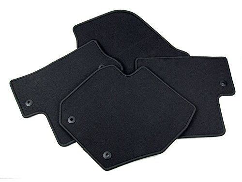 Volvo S60 Interior - New Genuine Volvo S60/V60 Black Textile Floor Mat (Set of four mats)