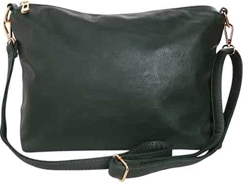 Humble Chic Crossbody Bag - Vegan Leather Satchel Messenger Hobo Handbag  Shoulder Purse 716e4bb4d57ac