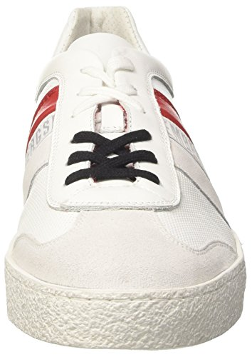 Bikkembergs Lord Rice-is 842 Sneaker Bianco (bianco / Rosso)