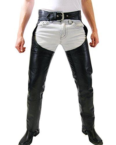 Leather Chap Pants - 4