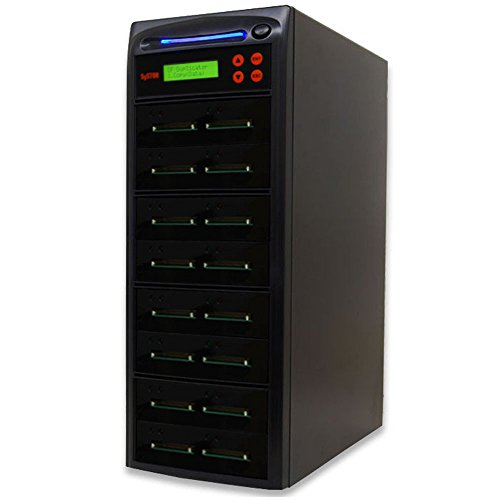 Systor 1 to 15 Multiple Compact Flash CF Memory Card Duplicator / Drive Copier - SYS-CFD-15 by Systor (Image #1)