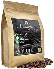 VOLUIT® ARCANUM -Kaffebönor, Exklusivt Urval Från Colombia, Unikt Ursprung   Specialkaffe, Hela Bönor   Premium Kaffebönor 100% Arabica   Traditionell Rostning   Hantverkare Rostade Kaffebönor