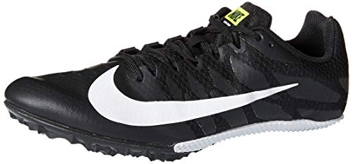 Nike Zoom Rival S 9 Track Spike Black/White/Volt Size 12 M US (Best Long Jump Spikes)