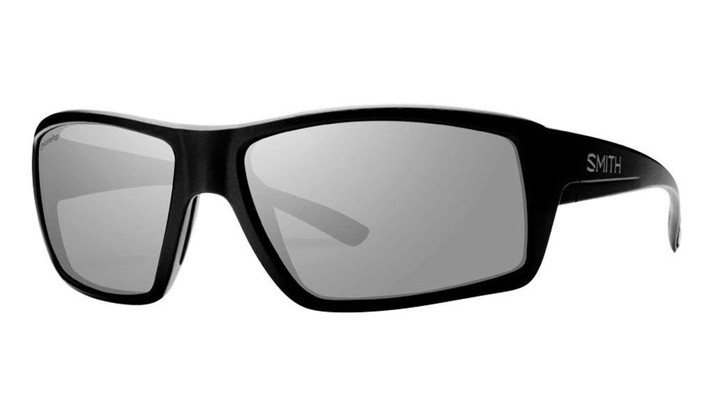 Smith Challis Polarized ChromaPop+ Sunglasses Matte Black/Platinum, One Size - Men's