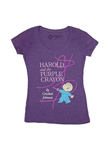 Out of Print Harold and The Purple Crayon Women's Shirt - Crayon Womens