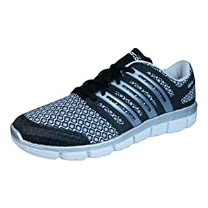 adidas CC ClimaCool Crazy Mens Running Sneakers / Shoes-Silver-12.5