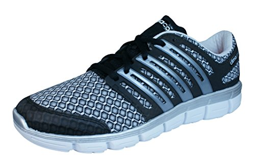 Mens Black and CC Silver adidas ClimaCool Shoes Trainers Silver Running Crazy fgtAzq
