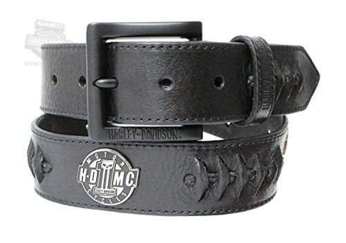 Leather Biker Belt - 3