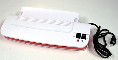 9 Inch Hot and Cold Laminator 3016C, Quick Warmup by Creative Hobbies