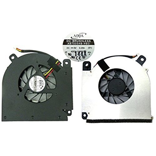 wangpeng CPU Cooling Fan For Acer Aspire 3690 5610 5610Z 5611AWLMi 5630 5650 5680 Travelmate 4200 Extensa 5200 5510 5510 5512z 5513z BL50 series laptop. AB7505HB-HB3 S1 DC 5V 0.25A.