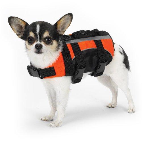 Guardian Gear Aquatic Pet Preserver – X-SMALL – ORANGE, My Pet Supplies