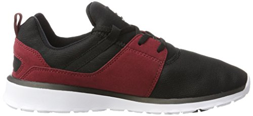 Sneakers Heathrow Homme Dc oxblood Basses Shoes black Rouge qTxECf