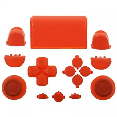 Mod Freakz PS4 Touch Pad Thumbsticks Dpad Home Buttons Set Orange (For Gen. 1 Controllers)
