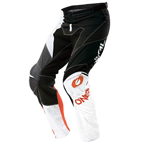 O'Neal Unisex-Adult Mayhem Lite Split Pant Black/orange Size 30 (Orange Mayhem Pants)