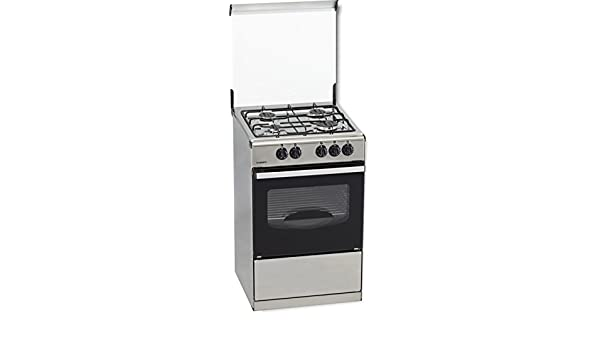 ROMMER VC-4 INOX - Cocina (Independiente, Acero inoxidable ...