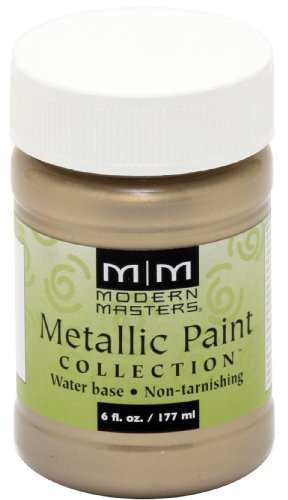 Modern Masters ME206-06 Metallic Champagne, - Collection Metallic Paint