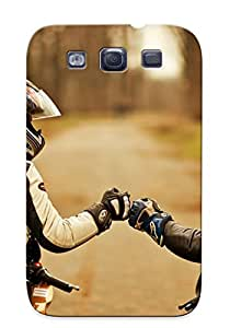 Galaxy S3 KptYGmq4222RiFWZ Bikers Stick Together Tpu Silicone Gel Case Cover For Lovers