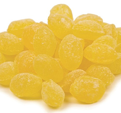 (Sanded Lemon Drops Old Fashioned Hard Candy 5 pounds Claey's Candies)