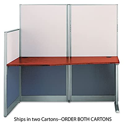 Bush WC36492A1-03 Office-in-an-Hour Straight Workstation- 64-1/2w x 32-1/4d- Hansen CY- Box 1 Of 2