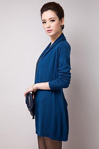 zhili - Cárdigan - para mujer Azul