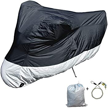 Amazon Com Light Weight Motorcycle Cover L With Cable