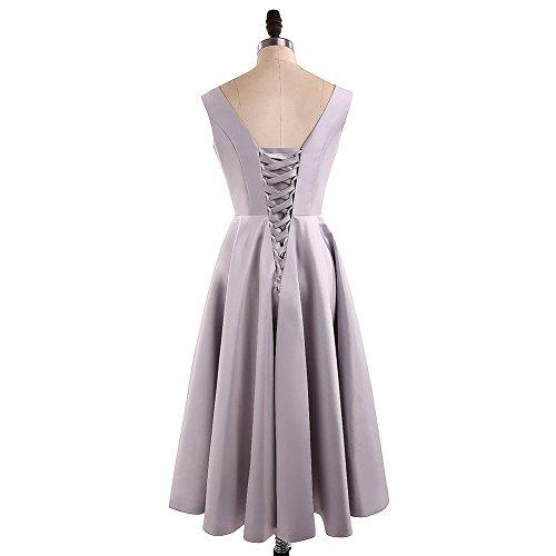 Kleider Kurz BrautjungfernKleider Abendkleider Grau Formal Party Bainjinbai Kleider Cocktail Kleider I4dY7wYqx