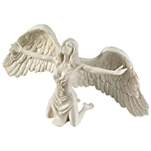 Design Toscano PD2704 Pray for Peace Bonded Marble Angel Statue