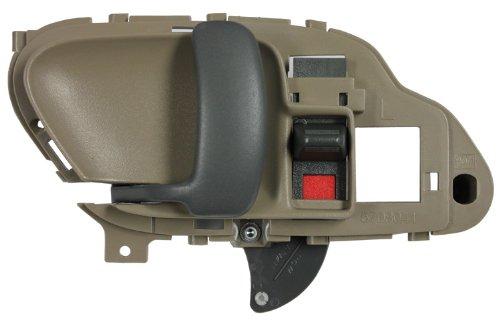 (LatchWell PRO-4000017 Driver Side Interior Door Handle in Tan for Chevrolet & GMC C/K Pickup Truck, Suburban, Tahoe & Yukon )