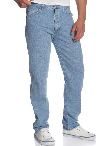 Jeans Genuine Wrangler Regular Fit (Wrangler Men's Big & Tall Rugged Wear Classic Fit Jean, Rough Wash, 62W x 32L)