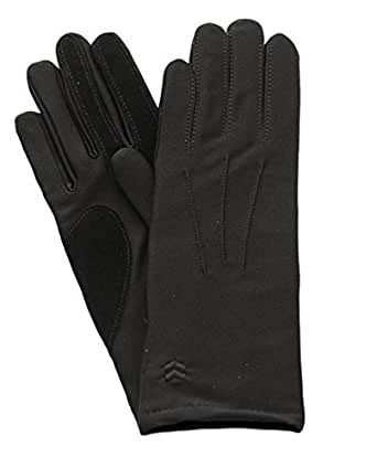 Isotoner Black Classics Spandex Gloves w/ Warm lining