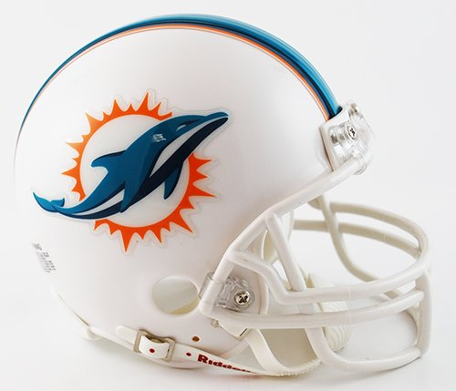 Miami Dolphins Nfl Football Helmet - 8