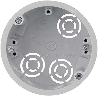 10x Caja Universal de Conexiones Electrica para Tabique Placas de Yeso: Amazon.es: Electrónica