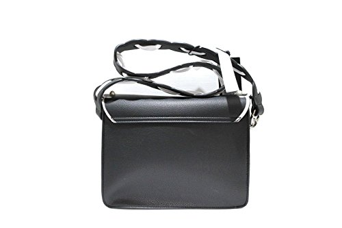 TOSCA BLU , Damen Umhängetasche Schwarz schwarz 19x23x9 cm
