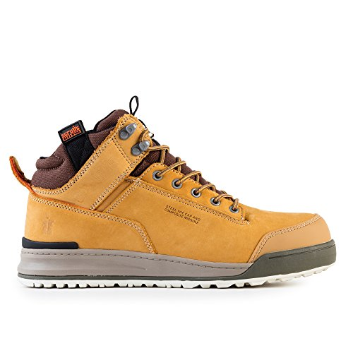 Scruffs Switchback Sb-P - Zapatos de seguridad para hombre, color amarillo, talla 42 EU ( 8 UK ) Amarillo