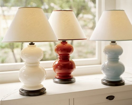 Pottery Barn Alexis Ceramic Table Lamp Base Amazon Com