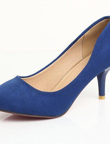GGX/Damen Schuhe Stiletto Ferse Basic Pumpe/spitz Heels Party & Abend/Kleid Blau/Violett/Rot black-us4-4.5 / eu34 / uk2-2.5 / cn33