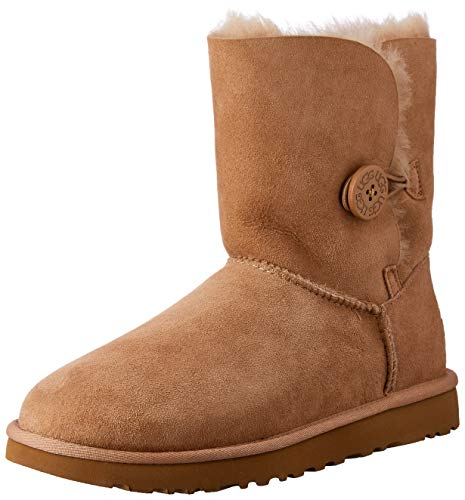 UGG New Women's Bailey Button II Boot Fawn 7 for sale  Delivered anywhere in USA