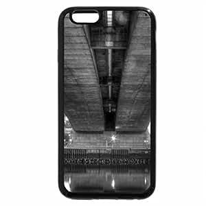 iPhone 6S Plus Case, iPhone 6 Plus Case (Black & White) - Kingston Bridge - Glasgow