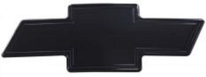 All Sales 96101KP Grille /& Tailgate Emblem Set Polished//Blk Chev BowTie w//Border
