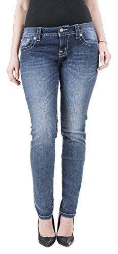 Embroidered Back Pocket Jean - 8