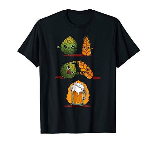 (Funny Beer Fusion T-Shirt I Perfect Alcohol Drinkers Wear)