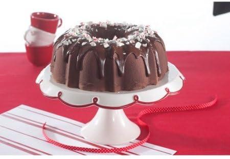 Bundt Cake Pan 12 Copa Negro de aluminio antiadherente ...