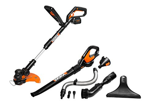 WORX WG924.1 Li-Ion Combo Kit with WORXAIR Models WG175, WG575.1, WA3537 and WA3740, Battery and Charger Included by Worx