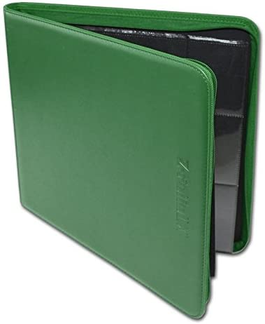 BCW 12-Pocket Z-Folio LX Trading Card Albums Green