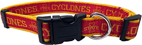 State Cyclones Nfl Iowa (Pets First COLLEGE IOWA STATE CYCLONES Dog Collar, Large)
